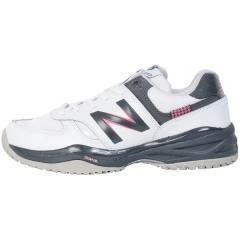 (セール)New Balance(ニューバランス)テニス バドミントン レディースオムニクレー 他 WC706WB12E WC706WB12E レディース WHITE/GRAY