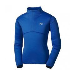 (セール)(送料無料)MILLET(ミレー)トレッキング アウトドア 長袖Tシャツ クータイ ウール ジップ ロングスリーブ MIV01488 4107 メンズ ESTATE BLUE