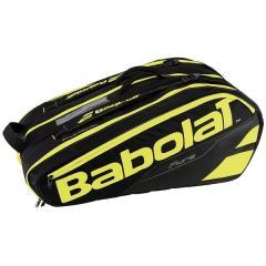 (送料無料)Babolat(バボラ)ラケットスポーツ バッグ ケース類 ラケットホルダー 12本収納 ピュア BB751133 BK/FYL