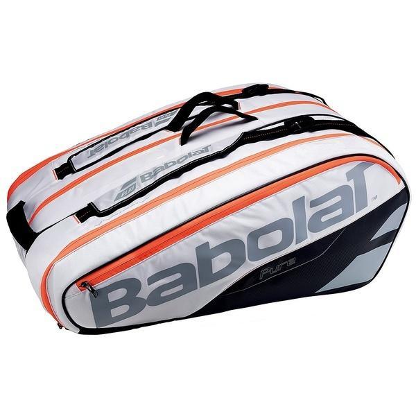 (セール)(送料無料)Babolat(バボラ)ラケットスポーツ バッグ ケース類 ラケットホルダー 12本収納 ピュア BB751161 WH