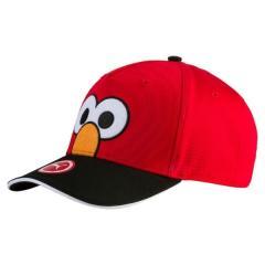 PUMA(プーマ)スポーツアクセサリー 帽子 セサミストリート クラブ キャップ 2119802 ボーイズ KD ハイ リスク レッド/エルモ