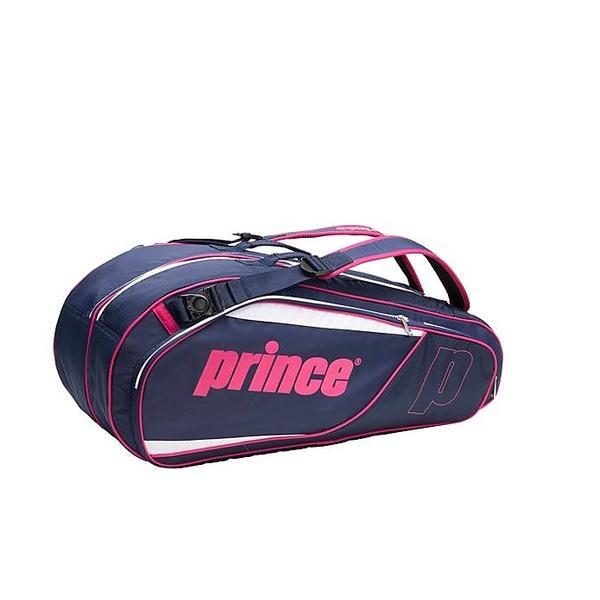 (送料無料)PRINCE(プリンス)ラケットスポーツ バッグ ケース類 AT772 455 NVY/MGT AT772 NVY/MGT