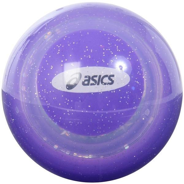 ASICS(アシックス)グラウンドゴルフ ボール ハイパワーボールマンゲキヨウ17 GGL307.64 F パープル