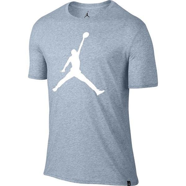 (セール)NIKE(ナイキ)バスケットボール メンズ 半袖Tシャツ ジョーダン ICONIC ジャンプマン S/S Tシャツ 834473-402 メンズ ライトアーモリーブルー/(ホワイト)
