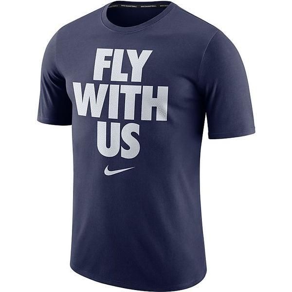 (セール)NIKE(ナイキ)バスケットボール メンズ 半袖Tシャツ ナイキ コア FLY WITH US S/S Tシャツ 844463-480 メンズ ゲームロイヤル/ゲームロイヤル