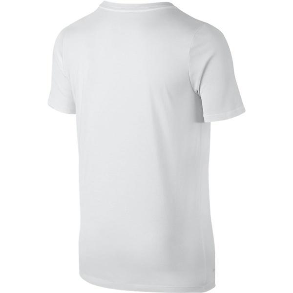 (セール)NIKE(ナイキ)バスケットボール ジュニア 半袖Tシャツ ナイキ YTH ドライ スウッシュ アスリート S/S Tシャツ 869204-100 ボーイズ ホワイト/(ゴーストグリーン)
