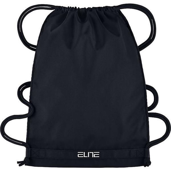 (セール)NIKE(ナイキ)バスケットボール バッグ ナイキ フープス エリート ジムサック BA5342-010 メンズ MISC ブラック/ブラック/(ホワイト)
