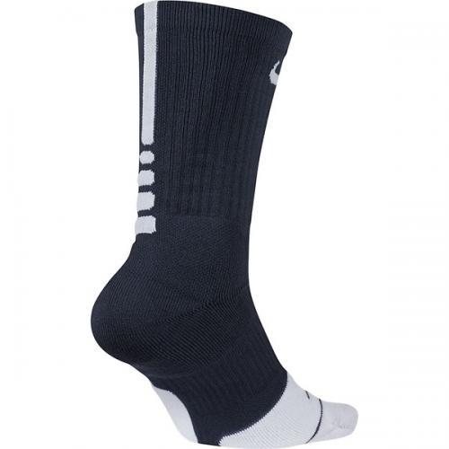 NIKE(ナイキ)バスケットボール メンズソックス ナイキ エリート クルー ソックス 1.5 SX5593-411 メンズ 25-27 ミッドナイトネイビー/ホワイト/(ホワイト)