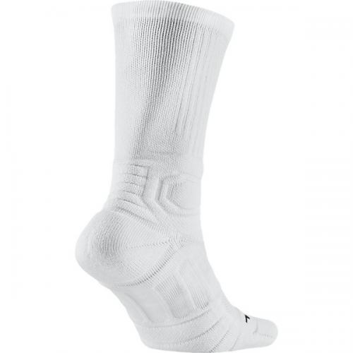 NIKE(ナイキ)バスケットボール レディースソックス ジョーダン アルティメイト フライト クルー ソックス SX5250-105 レディース 23-25 ホワイト/ブラック/(ブラック)