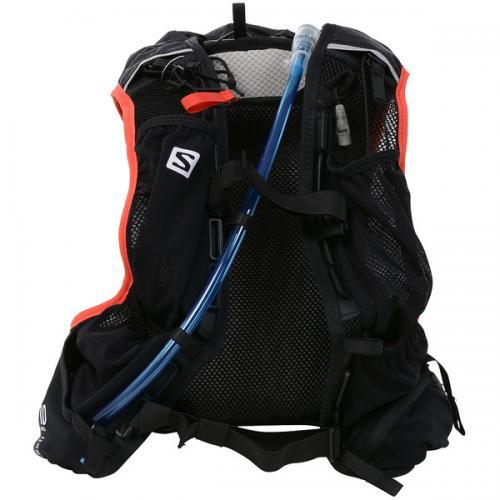 (送料無料)SALOMON(サロモン)ランニング バッグ SKIN PRO 10 SET L37996800 NS BLACK/BRIGHT RED