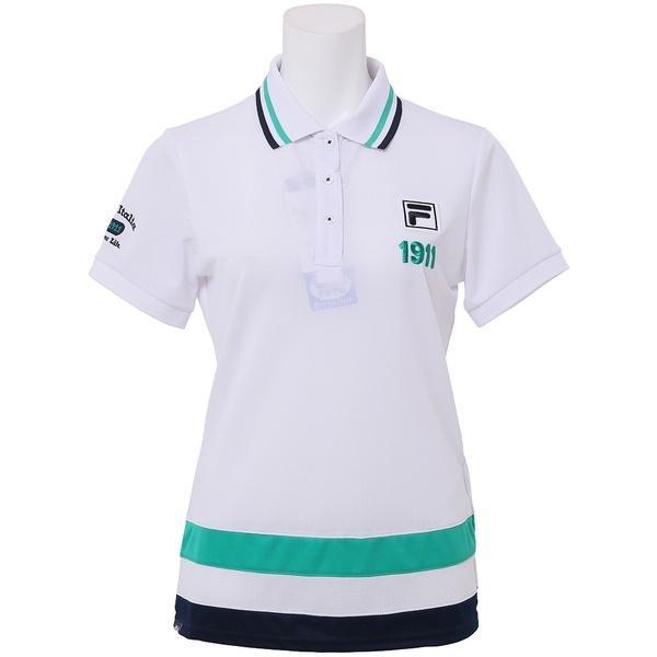 (セール)FILA(フィラ) ゴルフ レディース長袖ポロ 長袖ハイネック 長袖シャツ 757541 レディース WT