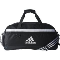 <ロハコ>adidas(アディダス)スポーツアクセサリー ボストンバッグ 63 TIRO ツアーバッグ M Z JLH77-S30248 メンズ M BLK/WHT画像