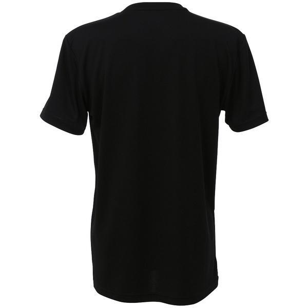 (セール)AND1(アンドワン)バスケットボール メンズ 半袖Tシャツ TOO STAGE LOGO TEE S737110583 BLACK/RED
