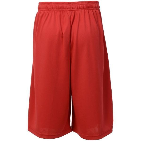 (セール)AND1(アンドワン)バスケットボール メンズ プラクティスショーツ YOUR GAME TALK SHORT S737120703 RED/BLACK/WHITE