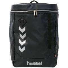 (送料無料)hummel(ヒュンメル)サッカー バックその他 17S_SPOT_BACKPACK_BK*SLV HFB6077_9095 ブラックxシルバー
