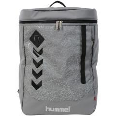 (送料無料)hummel(ヒュンメル)サッカー バックその他 17S_SPOT_BACKPACK_GRY HFB6077_93 グレイ