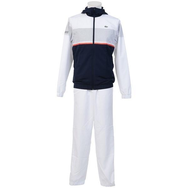 (セール)(送料無料)LACOSTE(ラコステ)テニス バドミントン ウインドアップ 【LACOSTE】 メンズ セットアップトラックスーツ WH2092JTUS WH2092 メンズ JTU