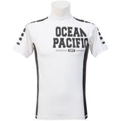 (セール)ocean pacific(オーシャンパシフィック)サマー レジャー メンズラッシュガード MENS RASHGUARD 516475 メンズ WHT