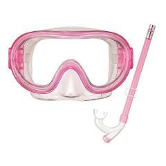 VIEW(ビュー)サマー レジャー ジュニアシュノーケリング 4~9歳子供向けお手頃価格のマスク・スノーケル2点セット RC9201 CLP ジュニア CLP