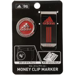 adidas(アディダス)ゴルフ ゴルフ用品アクセサリー マネークリップマーカー AWS46-A15795 メンズ FREE レッド