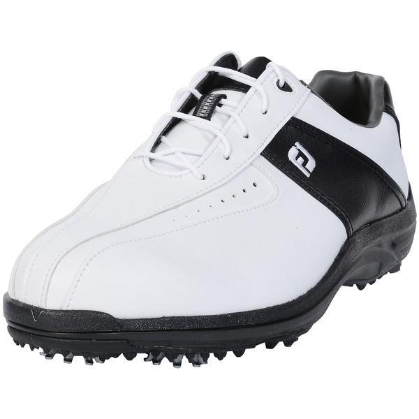 (セール)FOOTJOY(フットジョイ)ゴルフ メンズゴルフシューズ 17 グリーンジョイズ WT/BK W25 45303W25 メンズ W25 WHT/BLK