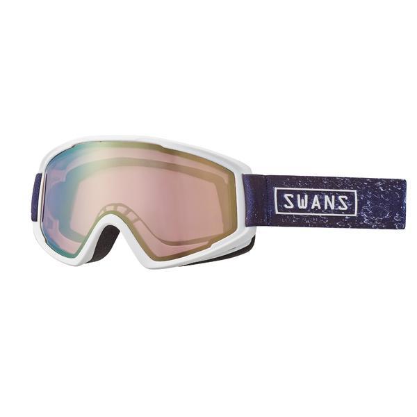 (送料無料)SWANS(スワンズ)ウインター ゴーグル O-100MDH W O-100MDH W メンズ W