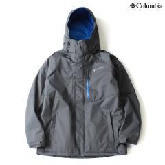 (送料無料)Columbia(コロンビア)ウインター メンズボードウェア アルパインアクションジャケット WE1058-055 メンズ GRAPHITE SUPER BLUE