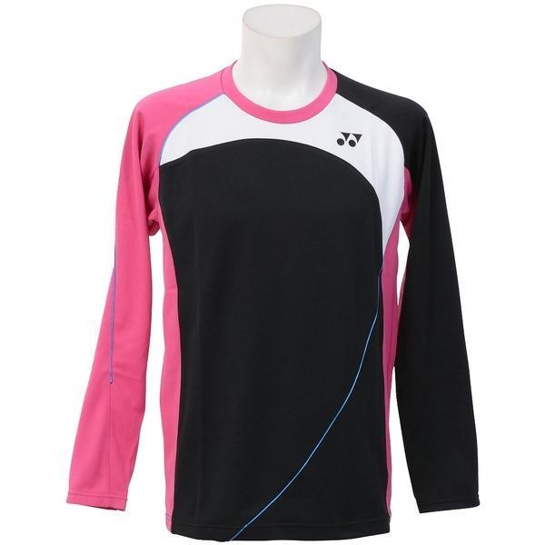 (送料無料)YONEX(ヨネックス)テニス バドミントン インナー スウェット コート ユニライトトレーナー 31021 007 BK