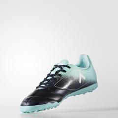 adidas(アディダス)サッカー ジュニアターフ エース 17.4 TF J CCZ69 S77121 ボーイズ エナジーアクアF17/ランニングホワイト/レジェンドインクF17