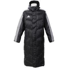 (セール)(送料無料)adidas(アディダス)サッカー コート SHADOW ロング パデッドコート DLK12 BR2069 メンズ ブラック