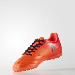 (セール)adidas(アディダス)サッカー ジュニアターフ エース 17.4 TF J CCZ69 S77118 ボーイズ ソーラーオレンジ/コアブラック/ソーラーレッド