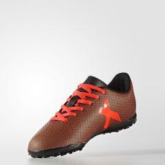 adidas(アディダス)サッカー ジュニアターフ エックス 17.4 TF J CCY50 S82422 ボーイズ コアブラック/ソーラーレッド/ソーラーオレンジ