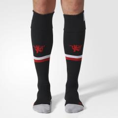 <LOHACO> (セール)adidas(アディダス)サッカー 海外クラブ ナショナルチーム マンチェスターユナイテッドFC ホーム ソックス BVE61 AZ7593 メンズ 2224 ブラック/ホワイト/リアルレッドS10画像