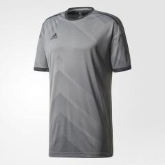 (送料無料)adidas(アディダス)フットサル ウォームアップ TANGO CAGE NEWトレーニングジャージー DKU11 BQ6864 メンズ グレーフォアF17/ブラック
