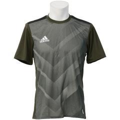 adidas(アディダス)サッカー 半袖プラクティスシャツ RENGI トレーニングジャージー半袖2 ELV62 CE4090 メンズ ナイトカーゴ F15
