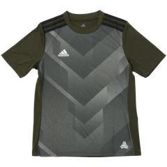 adidas(アディダス)サッカー ジュニア半袖プラクティスシャツ KIDS RENGI トレーニングジャージー半袖2 ELV66 CE4099 ボーイズ ナイトカーゴ F15