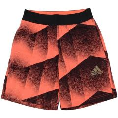 adidas(アディダス)サッカー ジュニアゲームパンツ KIDS YB トレーニングショーツ DTL09 CE9235 ボーイズ ソーラーレッド/ブラック/ゴールドメット
