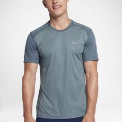 (セール)NIKE(ナイキ)ランニング メンズ半袖Tシャツ ナイキ DRI-FIT マイラー S/S トップ 833592-497 メンズ アーモリーブルー/ヘザー/(リフレクティブシルバー)