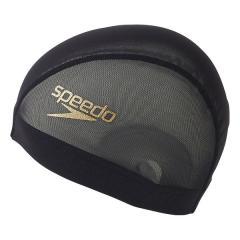 Speedo(スピード)スイミング キャップ STACK LOGOメッシュキャップ SD97C98 GD
