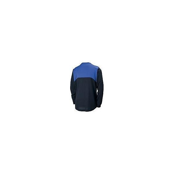 (セール)MIZUNO(ミズノ)サッカー ジュニア長袖プラクティスシャツ フィールドシャツLSJR P2MA760692 ジュニア ブラック*ターキッシュブルー