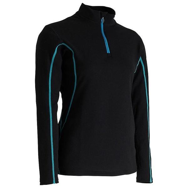 MIZUNO(ミズノ)ウインター レディースインナーウェア BT/ウィメンズジップシャツ Z2MA742509 レディース 09 ブラック