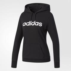 (セール)adidas(アディダス)レディーススポーツウェア スポーツカジュアルトップス BC 裏毛スウェットプルオーバーパーカー W EMG61 CD6343 レディース ブラック/ホワイト