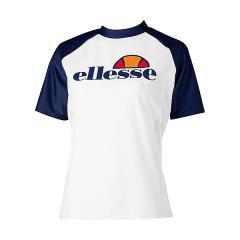 (送料無料)Ellesse(エレッセ)サマー レジャー レディースラッシュガード ビックロゴラッシュガード ES17294 レディース WN