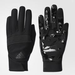 adidas(アディダス)スポーツアクセサリー 防寒雑貨 ウインドプルーフトレーニングフィットグローブ DUD26 CD4799 ブラック/ブラック