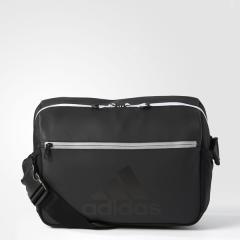 (送料無料)adidas(アディダス)スポーツアクセサリー エナメルバッグ パフォーマンス エナメルショルダーバッグ M DUD36 CF5395 NS ブラック/ブラック