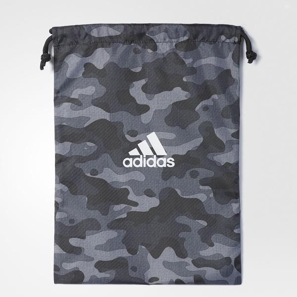 (セール)adidas(アディダス)スポーツアクセサリー ナップサック EPS シューズサック DRM73 CD4775 NS ブラック/ユーティリティブラック F16