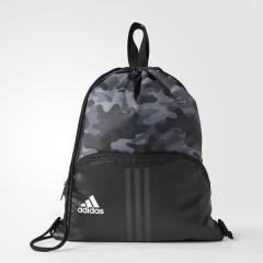 (セール)adidas(アディダス)スポーツアクセサリー ナップサック EPS ジムバッグ DUD40 CF7007 NS ブラック/ユーティリティブラック F16