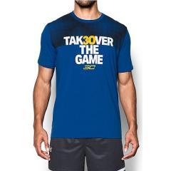 (送料無料)UNDER ARMOUR(アンダーアーマー)バスケットボール メンズ 半袖Tシャツ UA SC30 TAKEOVER TEE 1301764 メンズ RYL/WHT/TAX