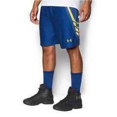 (セール)UNDER ARMOUR(アンダーアーマー)バスケットボール メンズ プラクティスショーツ UA TEAM 9IN SHORT 1302384 メンズ ROYAL/ROYAL/TAXI