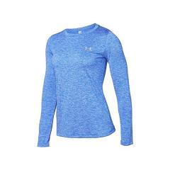 UNDER ARMOUR(アンダーアーマー)レディーススポーツウェア ワークアウトTシャツ TOPS UA TECH LS CREW TWIST 1307486 984 レディース LAPIS BLUE/METALLIC SILVER